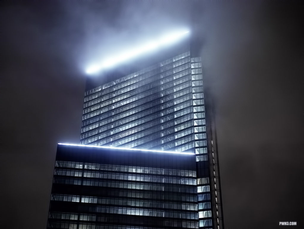 Four World Trade Center in the Fog – PWH3